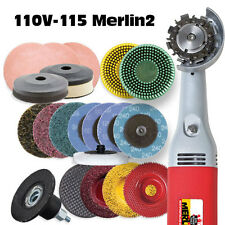DELUXE  MERLIN 2  WOODCARVING TOOL WORLDS SMALLEST CHAIN SAW #10111