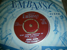 JOHNNY WORTH - Way down younder in new orleans - 1960 Embassy 45-WB 376