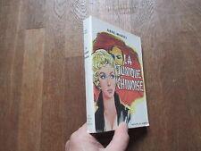 ANNE MARIEL la tunique chinoise   scorpion + jaquette 1958