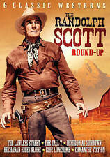 The Randolph Scott Round-Up: 6 Classic Westerns (DVD, 2015)
