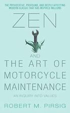 Zen and the Art of Motorcycle Maintenance: An Inquiry Into Values Paperback VG