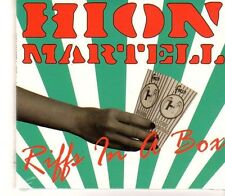 (GC163) Hion Martell, Riffs In A Box - 2014 Sealed CD