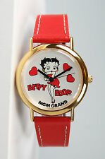 Betty Boop MGM Grand Women's Gold-Tone Watch. New and Unworn. Eyes Move!