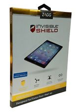 Zagg Invisibleshield FFAPPIPAD5 Screen Protector Ipad Air Air 2 Wet Apply