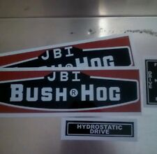 Bush Hog JBI decals 1971 Javelina tractor decal set of 8 new