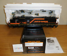 MTH 20-2595-1e HARLEY DAVIDSON SD60M DIESEL ENGINE LOCOMOTIVE O SCALE TOY TRAIN