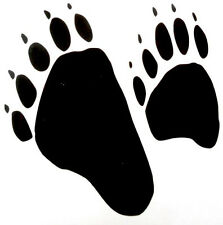 Bear Paw -  Window sticker SUV Car RV Hunting ATV Outdoor TruckVinyl Decal
