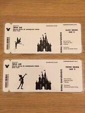 Personalizado Disney tarjetas de embarque