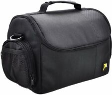 Large Black Digital Camera Bag/Case for Nikon SLR D7100 D5200 D5100 D3300 D