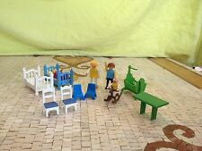 PLAYMOBILE INTERIEUR MAISON VINTAGE