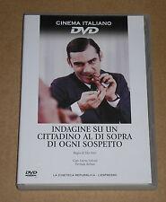 INDAGINE SU UN CITTADINO AL DI SOPRA DI OGNI SOSPETTO- DVD FILM COME NUOVO(MINT)