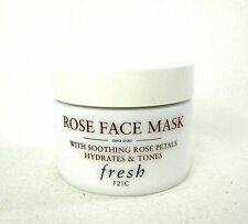 Fresh Rose Face Mask With Soothing Rose Petals Hydrates And Tones - 1.0 oz -