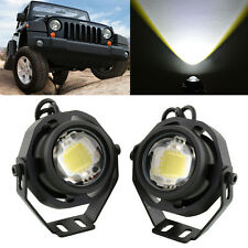 2Pcs 10W Cree LED Off-road Spot Flash Fog Head Light Lamp for Car Jeep 12V-32V