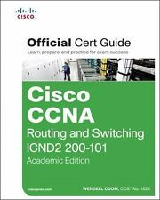 Cisco CCNA Routing and Switching ICND2 200-101 Official Cert Guide, Academic Edi