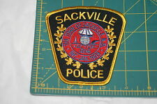 CANADA Sackville New Brunswick Police Shoulder Patch