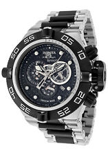 Invicta Men's Subaqua Noma IV SWISS MADE Chrono Two-Tone Black and Silver Watch