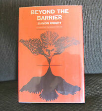 Beyond the Barrier Damon Knight 1964 BCE Doubleday Sci Fi HB HC twilight zone!!