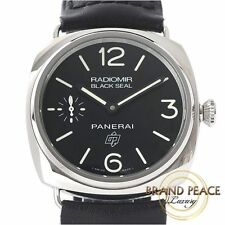 Panerai black seal logo and PAM00380 hand-rolled R-men's Free Shipping
