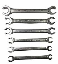 6 PC. Metric Flare Nut Wrench Set MADE IN USA & FAST N' FREE SHIPPING!