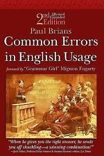 Common Errors in English Usage 2nd Edition by Paul Brians