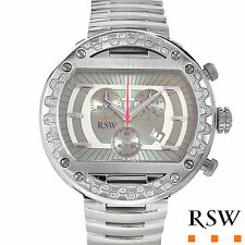 RAMA SWISS WATCH. Gentlemens Chronograph.Genuine Clean Diamonds $3,595.00