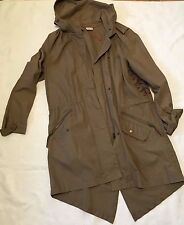 Together Gorgeous  Khaki Green  Light Parka Coat  size 10-12