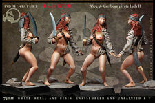 Caribean pirate Lady II 75mm 1 Figur El Viejo Dragon Miniaturas Pin Pup AS75.36