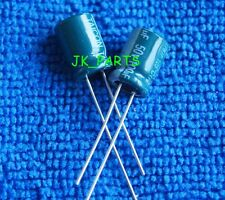20pcs 100uF 50V 105°C Radial Electrolytic Capacitor 8x12mm