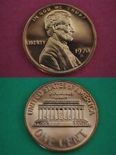 1970-S Proof Lincoln Memorial Cent Penny Beautiful Coin Flat Rate Shipping