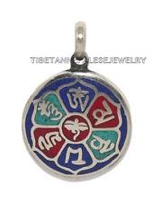 Turquoise pendant Coral Pendant Lapis Pendant Tibet Pendant Nepal Pendant PB105
