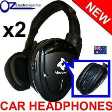 2x Headphones wireless car DVD mitsubishi Outlander Xtrail Pathfinder Pajero NEW