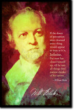 WILLIAM BLAKE ART PHOTO PRINT POSTER QUOTE