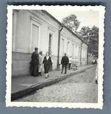 URSS, Région de Moscou. Mосковской Oбласти Vintage silver print. Vintage Russia.