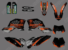 TEAM GRAPHICS & BACKGROUNDS DECALS FOR KTM SX SXF 07 08 09 10 XC EXC 2008-2011 A