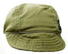 Short Floppy Bill Fila Khaki Baseball Cap 100% Cotton-Size Medium 56-57 cm