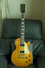 1990s Burny LP Rare  Vintage style  Slash Color  model Guitar Made in Japan.