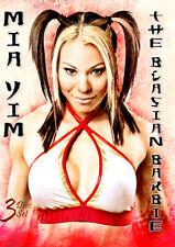 Mia Yim Blasian Barbie DVD, Pro Wrestling Womens SHIMMER SHINE WSU CZW ROH NEW