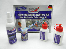 PROTEC NANO SCHEINWERFERPOLITUR SET / HEADLIGHT REPAIR KIT
