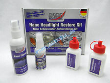 Protec nano scheinwerferpolitur set/headlight REPAIR KIT