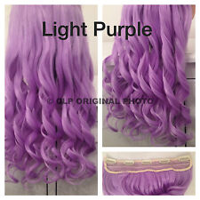 Clip In Hair Extension. Synthetic, Full Head Look Like Human Hair