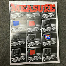 rare MEASURE revue du personnel HP Hewlett Packard Calculator Jan Feb 1988