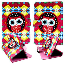 "2D Colorful Owl  for  Asus Google Nexus 7 7"" Tablet PU Leather Case Cover"