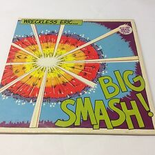 Wreckless Eric ‎– Big Smash VG/VG Classic Punk Vinyl LP Stiff Records