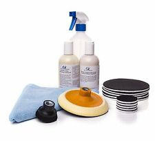 Glass Polishing Kit for all Types of Glass, Light Scratch Repair, Lime Scale