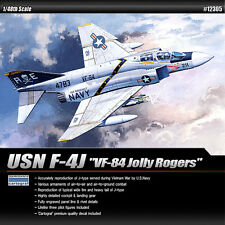 Academy 1/48 F-4J VF-84 USN Jolly Rogers Plastic Model Kit Cartograf Decal 12305