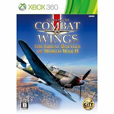 USED Xbox 360 Combat Wings The Great Battles of World War II 2 JAPAN xbox360