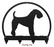 Kerry Blue Terrier Metal Key or Leash Hanger *NEW*