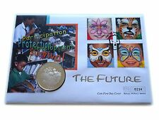 1989 Cayman Islands Silver Proof $5 Coin Cover FDC Save the Children Royal Mint