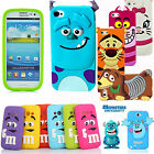 Phone Case Cover Cartoon Characters For Apple iPhone 4 5 5C 6 & Samsung Galaxy