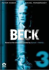 Beck: Set 3 - Episodes 7-9 [3 Discs] (2012, REGION 1 DVD New) WS/SWE LNG/ENG SUB